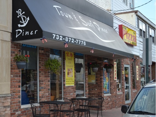 Grab a bite to eat at Town & Surf Diner or 1st Avenue Pizza, they are both delicious