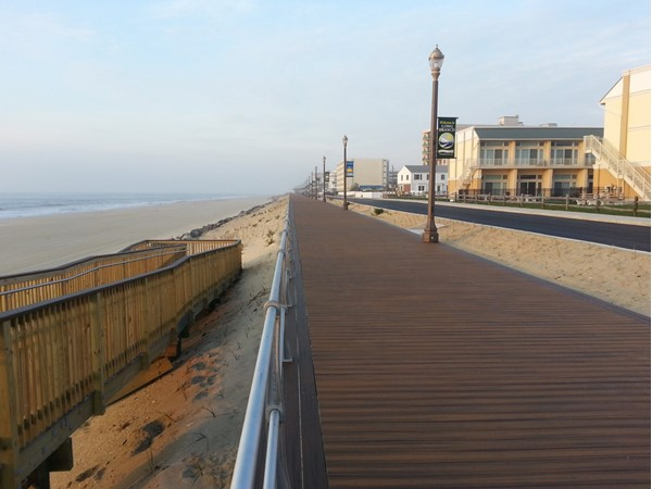 The new Long Branch boardwalk is complete, open and ready for the 2016 summer season
