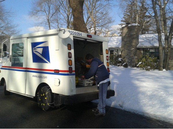 The best mailman in town! Be sure to say hello to Mark