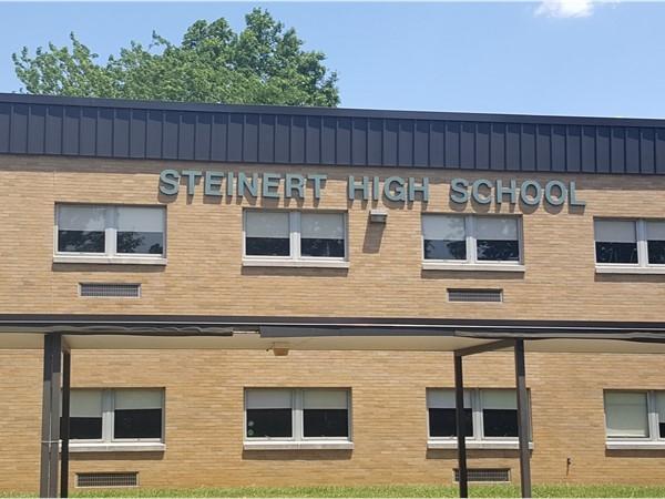 Steinert High School, one of the three high schools in Hamilton