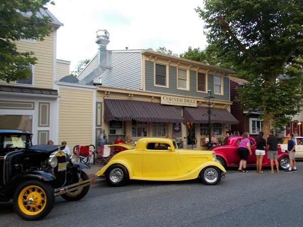 "The Third Annual ""Street of Dreams"" car show in Bordentown. Over 200 cars on display"