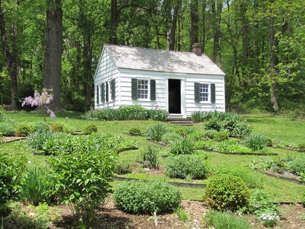 Caroline Foster's Cottage replicated from Cape Cod style, built in 1916