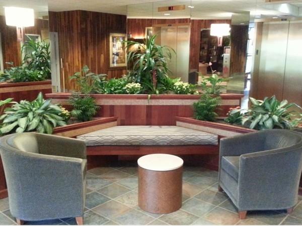 The Channel Club has an elegant lobby