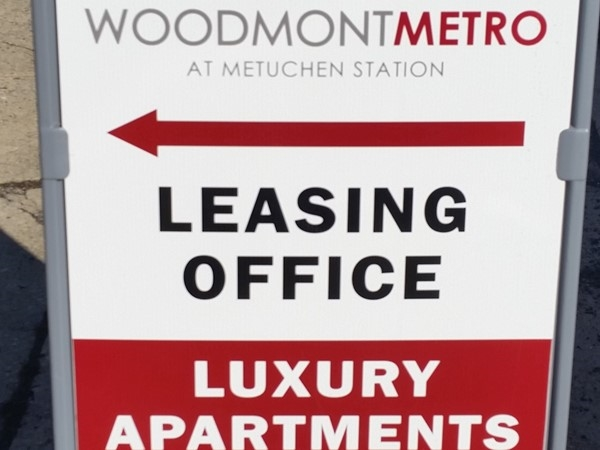 The new Woodmont luxury apt's will be part of the Pearl Street development in downtown Metuchen
