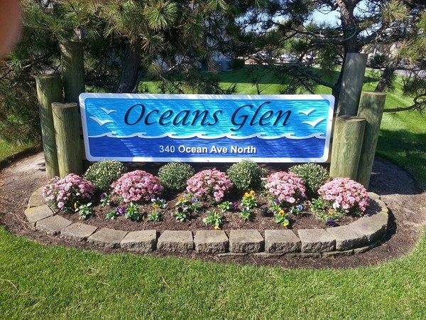 Oceans Glen in North Long Branch is a block from the beach.