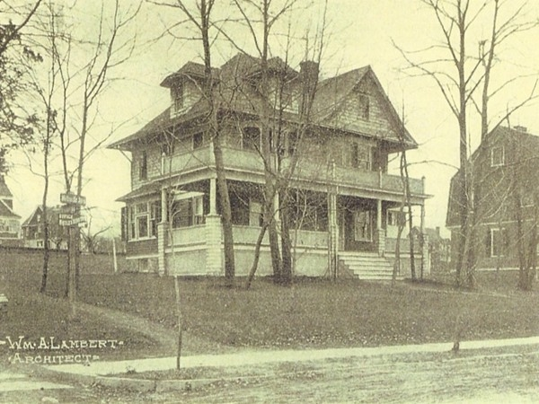 Nutley circa 1900 - Architect William Lambert built most of the prominent homes which stand today