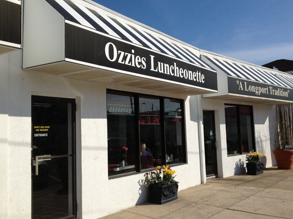 "Ozzies Luncheonette ""A Longport Tradition"""