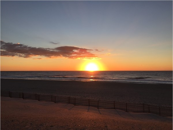 Beautiful sunrise on September 25, 2016