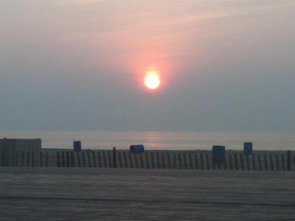 Sunrise on 9/11/13