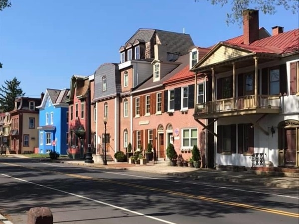 High Street in Mt Holly