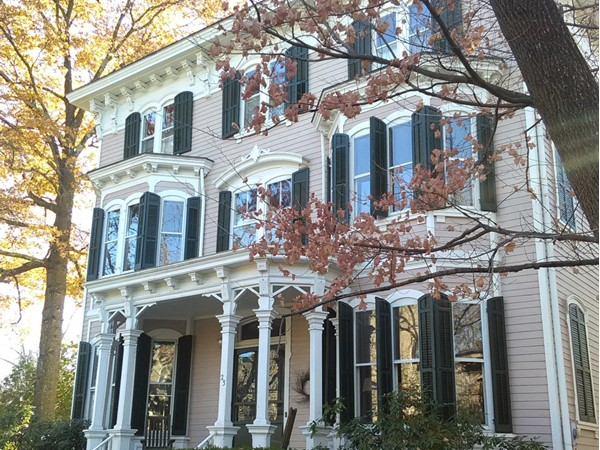An example of some of the unique and beautiful architecture in Princeton