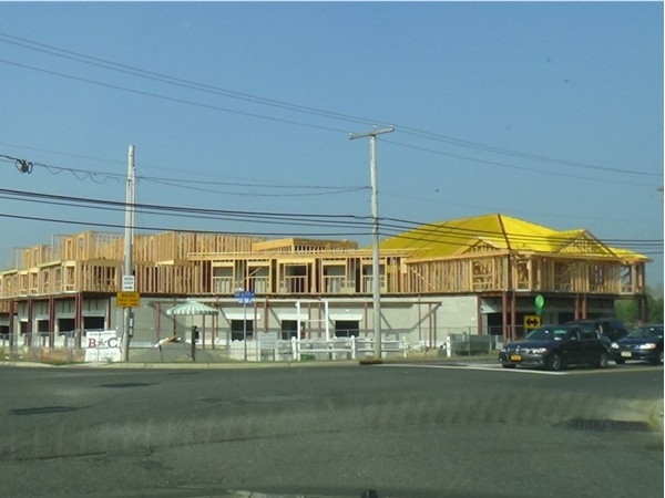 Newly built strip mall on Main St. in Oceanport