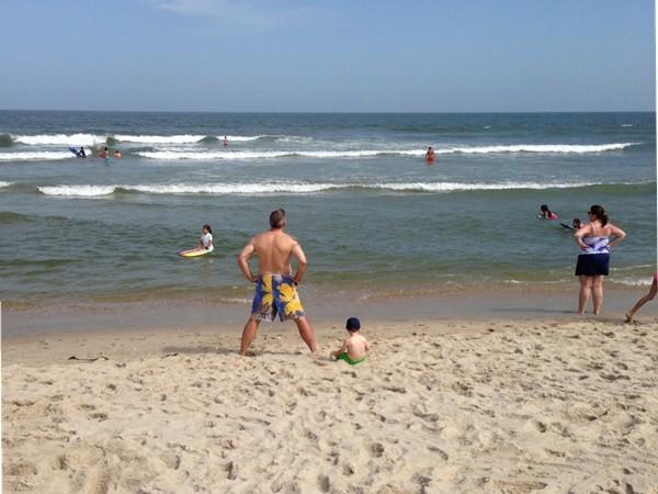 Spending the day on Ship Bottom beaches