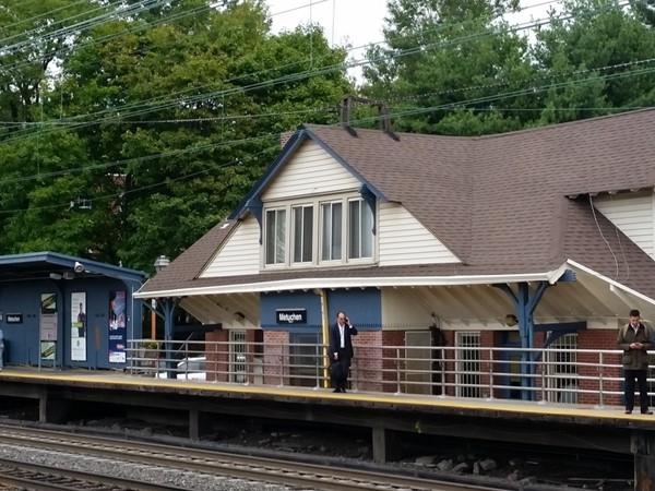 Train station in Metuchen