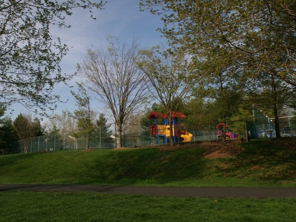 Society Hill offers many amenities: walking paths, tennis courts, playground, pool & clubhouse