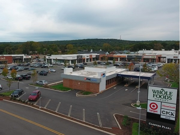There are many popular shopping options in Closter Plaza
