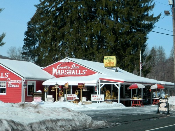 Marshalls farm stand open all year... Best place to stop for Jersey sweet corn when in season!
