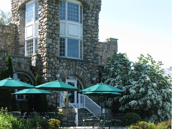Ramsey Golf & Country Club clubhouse and patio