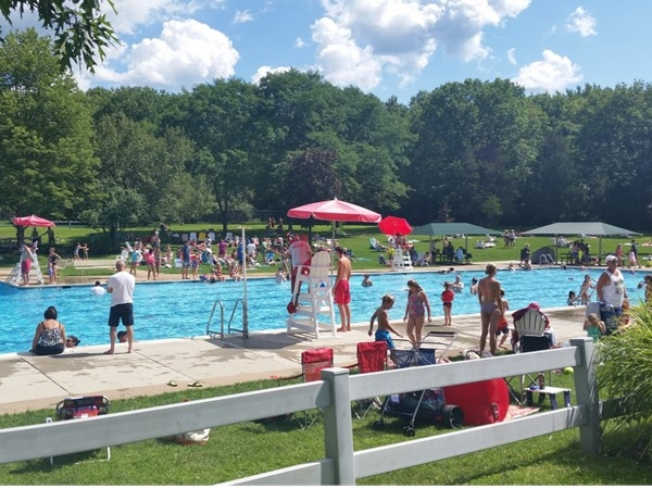 The beautiful Pleasant Valley Pool, located off Valley Road in Pleasant Valley Park