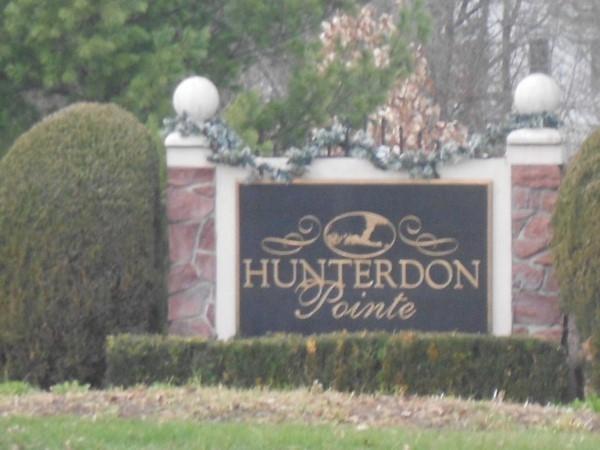 Hunterdon Pointe entrance