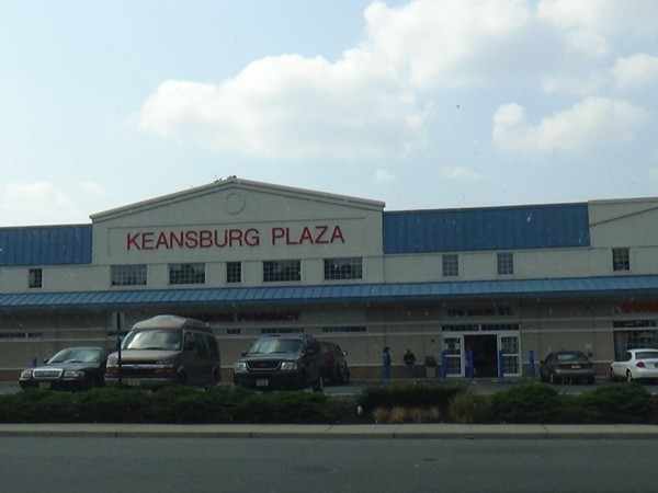 Keansburg Plaza with Dunkin Donuts, Valley National Bank and Keansburg Pharmacy