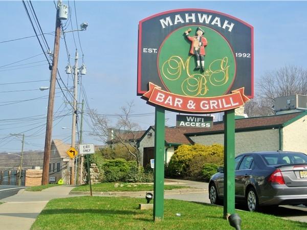 Mahwah Bar & Grill. Your neighborhood bar and grill