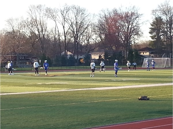 RDHS Boy's Lacrosse season one home game
