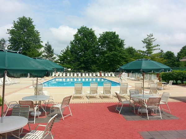 The community pool at Princeton Crossing in Plainsboro