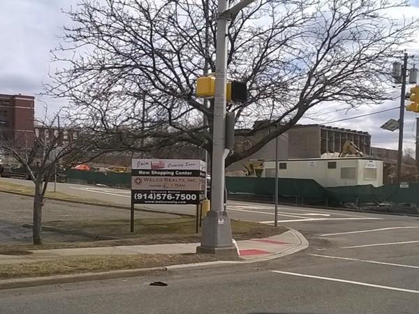 Moving along! New construction in Kearny