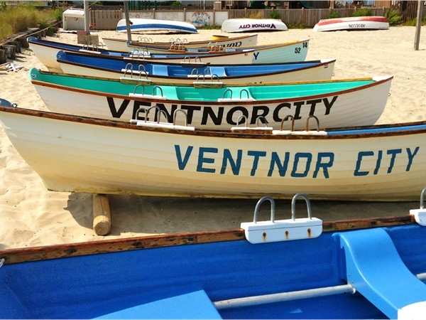 Ventnor City's lifeguard boats ready and waiting for next season