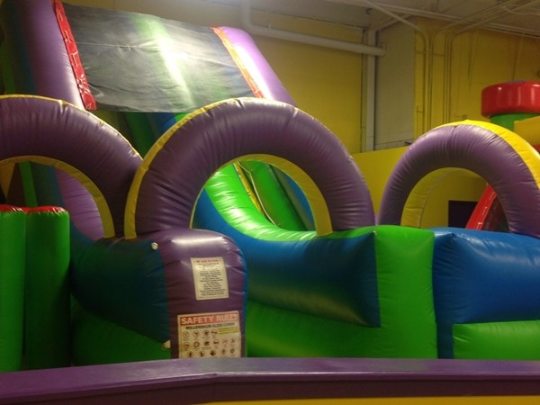Bouncy slide in Screamin Parties located on Rt 22