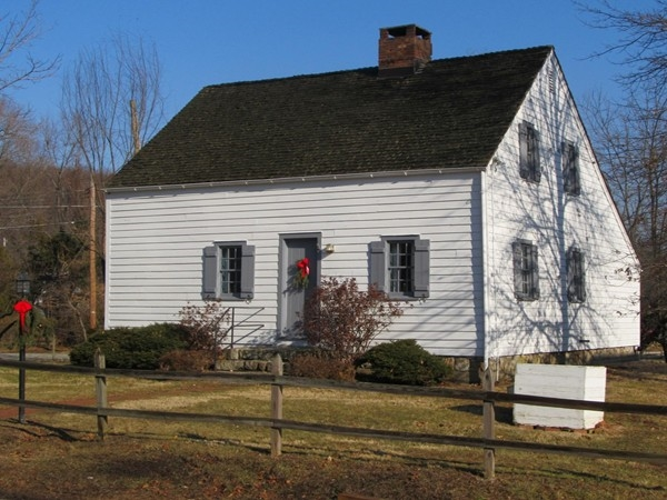 "Silas ""Captain"" Riggs Saltbox Museum, Ledgewood, NJ in Roxbury Twp. part of the Morris Canal History"