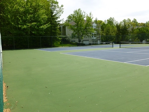 Darlington Ridge tennis courts