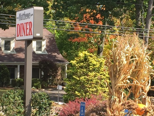 Matthew's Diner-best place to bring kids to lunch