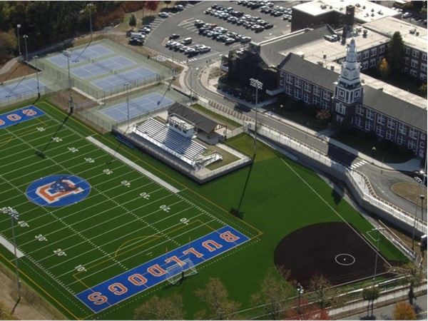 Jonathan Dayton High Schools fantastic campus