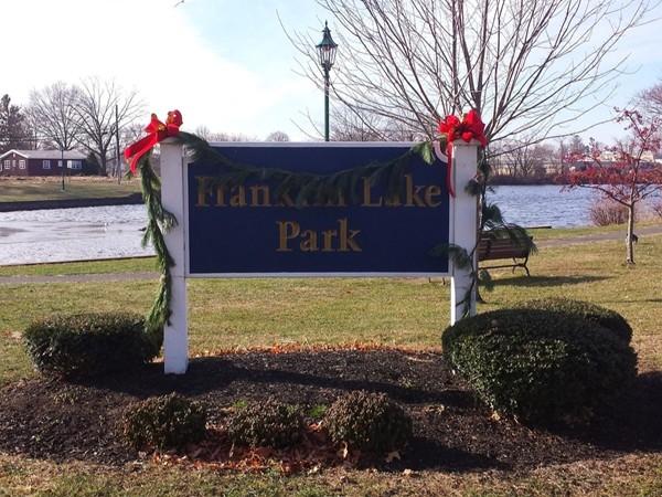 Franklin Lake Park in December