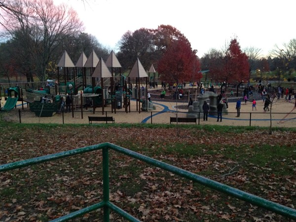 New playground in Brookdale Park