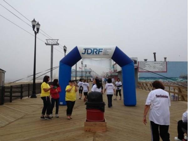 Walk for Juvenille Diabetes held on Seaside Heights Boardwalk