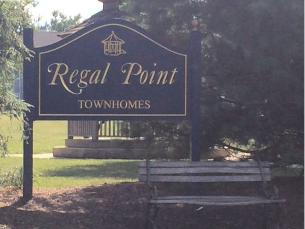 Regal Point Townhomes entrance
