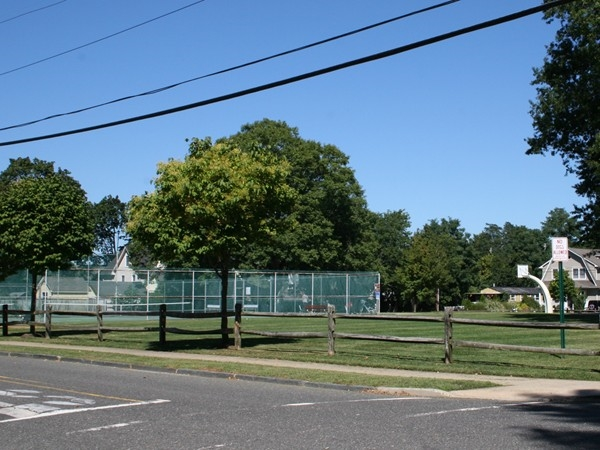 Tennis courts on Church Street