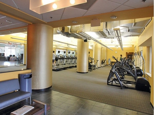 Hudson Tea Builing Condominiums fitness center - one of the best I've seen in any building!
