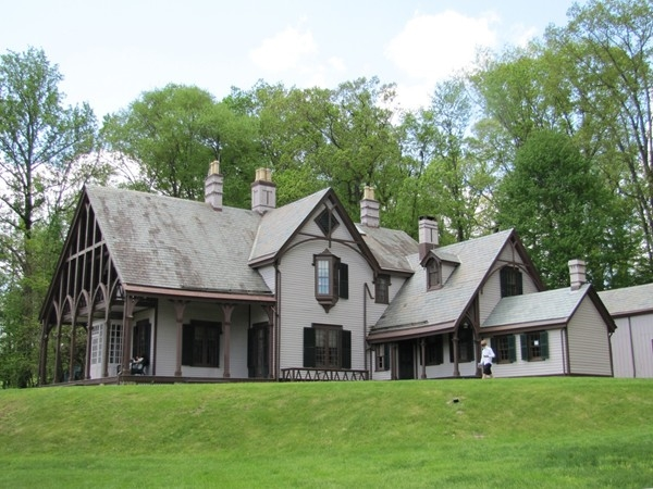 The Willows at Fosterfield Farm, a Gothic Revival home built in 1854 by Paul Revere's grandson