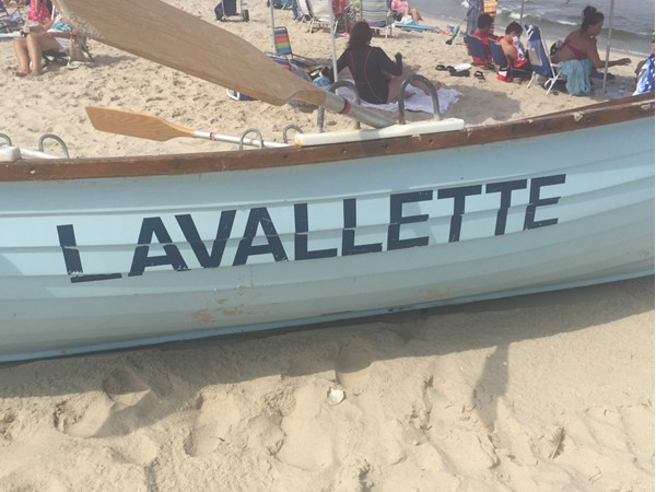 It's always a great beach day in Lavallette