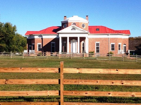 Monticello look-alike ... (home of Thomas Jefferson)