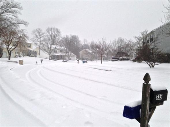 Winter storm hits Jackson!