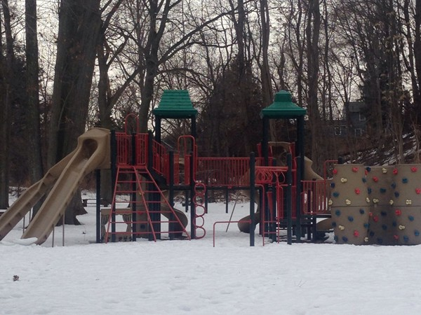 Playground area in Echo Lake Park