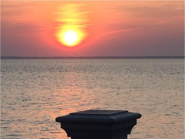 Last nights sunset