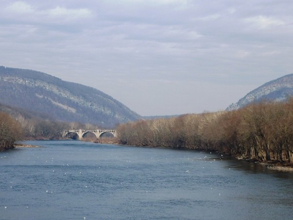 View of the Water Gap