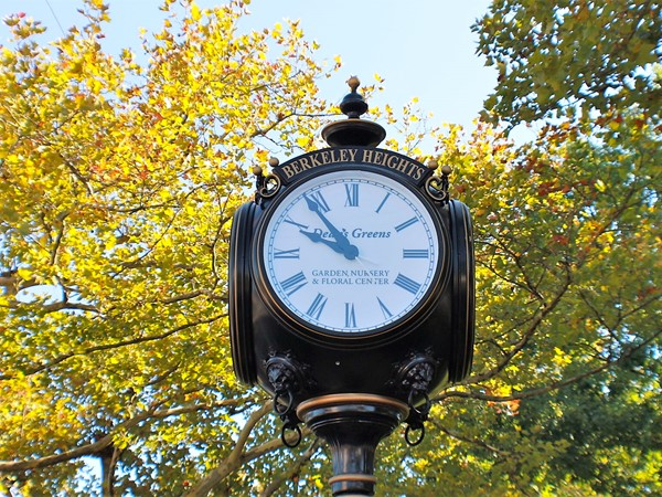 Peppertown Park clock
