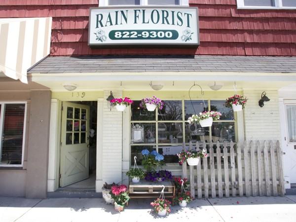 Stop by The Rain Florist on Dorset for a nice springtime flower arrangement